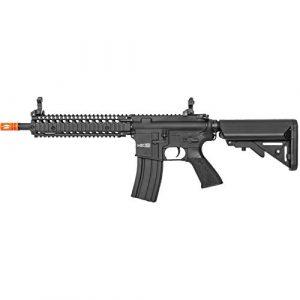 Lancer Tactical Airsoft Rifle 1 Lancer Tactical Classic Army Nemesis CA117M M4 Carbine Airsoft AEG Rifle Black 400 FPS