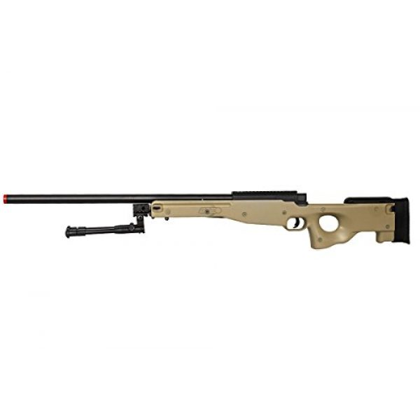 Well Airsoft Rifle 4 Well Airgunplace Type 96 AWP Bolt Action Airsoft Tan Color Sniper Rifle