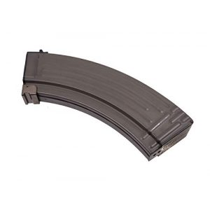 LONEX Airsoft Gun Magazine 1 AIRSOFT AK LONEX FLASH METAL BLACK PULL CORD MAGAZINE MAG 520 RDS AK47 ASG @ HELMET WORLD