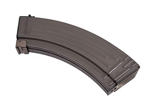 LONEX  1 AIRSOFT AK LONEX FLASH METAL BLACK PULL CORD MAGAZINE MAG 520 RDS AK47 ASG @ HELMET WORLD