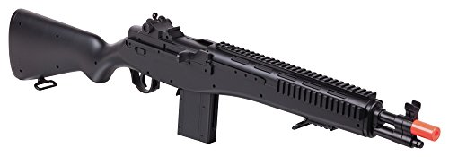 Game Face  1 GameFace GFASM14B M14 Spring-Powered Single-Shot Bolt Action Infantry Carbine Airsoft Rifle