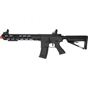 Valken Airsoft Rifle 1 Valken ASL Hi-Velocity M4 Airsoft Rifle AEG 6mm Rifle (Tango)