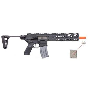 Sig Sauer Airsoft Rifle 1 PF Sig Sauer AIR MCX AEG Airsoft Proforce MCX Virtus Automatic Electric Gun with Included Pack of 1000 6mm .20g BBS Bundle