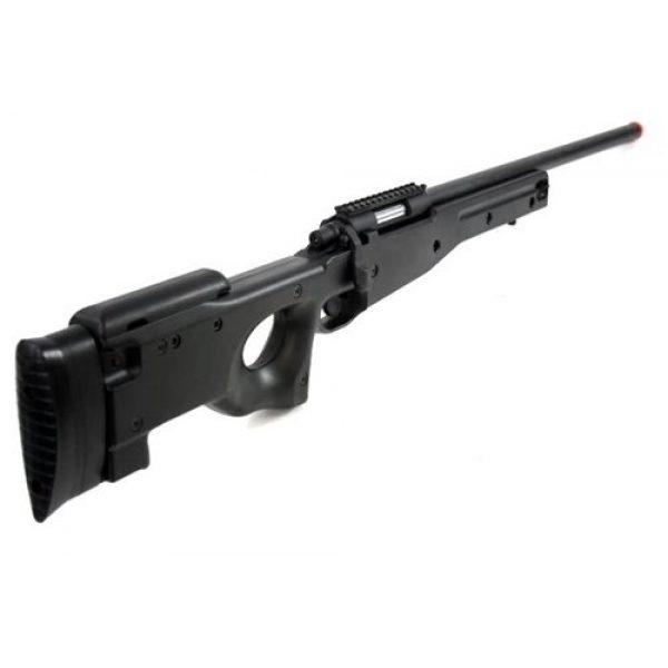 AGM Airsoft Rifle 5 Airsoft AGM Metal Bolt Action L96 AWP Sniper Rifle Black