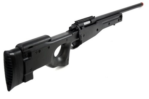 AGM  5 Airsoft AGM Metal Bolt Action L96 AWP Sniper Rifle Black