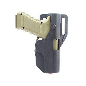 PG  1 PG Tactical Auto Loading Holster Level 3 Lock OWB Pistol Holster for Glock 17 19 23
