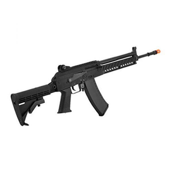 KWA Airsoft Rifle 3 KWA AKG-KCR Full Metal 6mm Gas Blowback 40rd Airsoft Rifle, Black