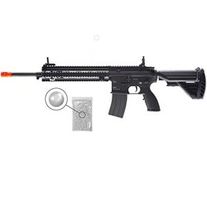 Wearable4U Airsoft Rifle 1 Umarex Elite Force Heckler&Koch HK M27 IAR AEG Electric Airsoft Rifle Gun with Avalon Gearbox with Wearable4U Bundle