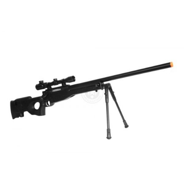 Well Airsoft Rifle 2 de airsoft shadow ops mk96 bolt action sniper rifle w/ bipod and scope(Airsoft Gun)