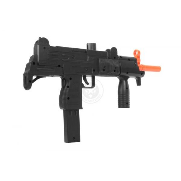 Double Eagle Airsoft Rifle 4 Double Eagle m35 Tactical Uzi Airsoft SMG Spring Powered Pistol(Airsoft Gun)