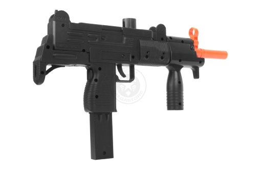 Double Eagle  4 Double Eagle m35 Tactical Uzi Airsoft SMG Spring Powered Pistol(Airsoft Gun)