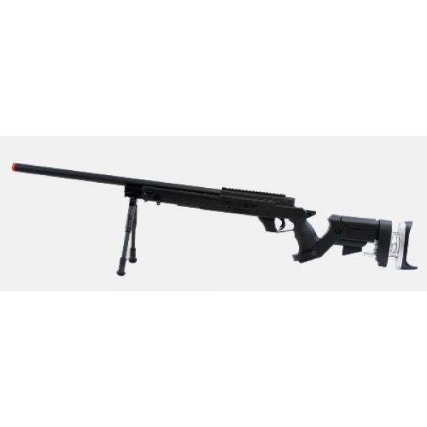 Well Airsoft Rifle 2 Well sr pro bolt action sniper rifle w/ bipod black(Airsoft Gun)