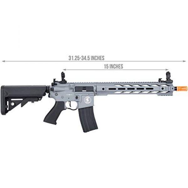 Lancer Tactical Airsoft Rifle 2 Lancer Tactical LT-25 ProLine Series M4 SPR Interceptor Airsoft AEG Rifle HIGH FPS Gray 395 FPS