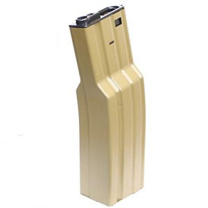 Echo 1 Airsoft Gun Magazine 1 Echo1 FAT AEG Magazine, Fits Echo1 M4/M16 Electric Airsoft Rifles, 850 Rds, Tan