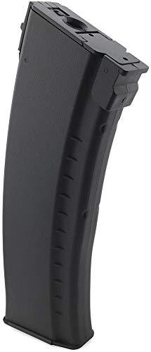 SportPro  2 SportPro 500 Round Polymer AKM Style High Capacity Magazine for AEG AK47 AK74 Airsoft - Black
