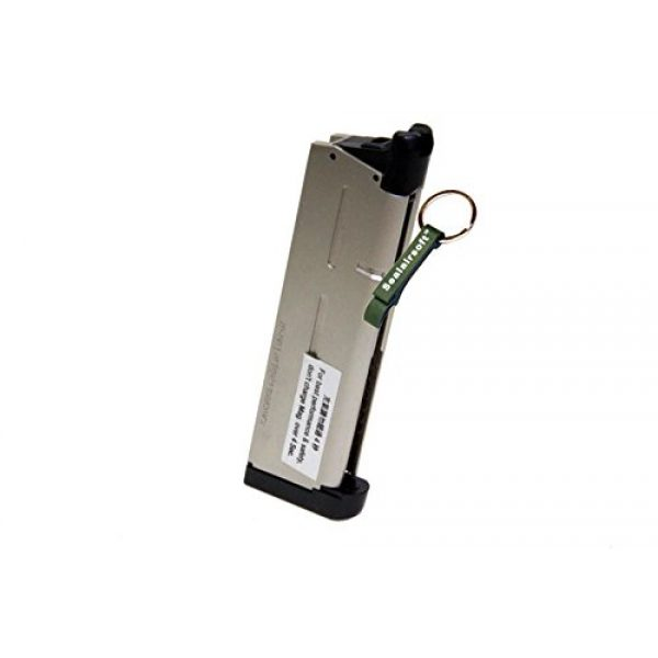 KJW Airsoft Gun Magazine 1 KJ Works 26rds Airsoft Metal 6mm GAS Magazine For KP07 MEU GBB -Mobile Ring Included