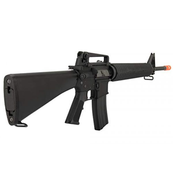Lancer Tactical Airsoft Rifle 5 Lancer Tactical WE M16A3 Open Bolt Full Metal Gas Blowback Airsoft GBBR Rifle Black
