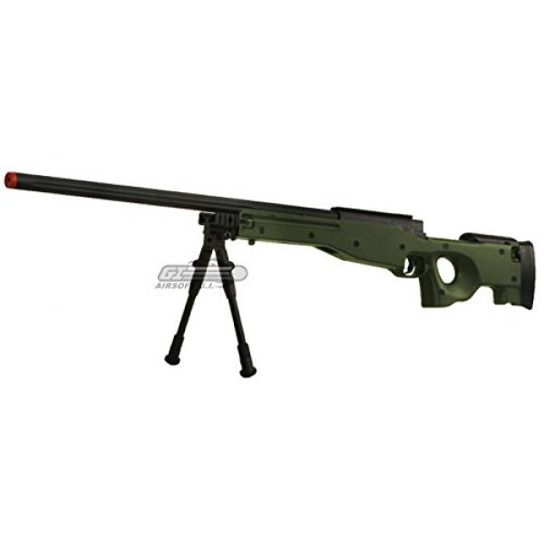 Bravo! Airsoft Rifle 3 Bravo Full Metal MK98 Bolt Action Sniper Rifle (OD/Bipod Package)