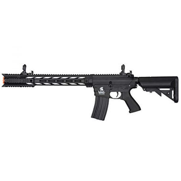 Lancer Tactical Airsoft Rifle 1 Lancer Tactical LT-25 Gen 2 M4 AEG Airsoft Rifle (Black with Low FPS)