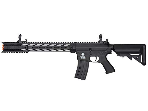 Lancer Tactical  1 Lancer Tactical LT-25 Gen 2 M4 AEG Airsoft Rifle (Black with Low FPS)