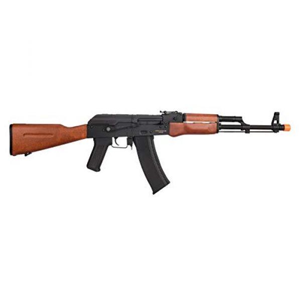Lancer Tactical Airsoft Rifle 2 Lancer Tactical AK-74N Series AEG Airsoft Rifle Real Wood Furniture