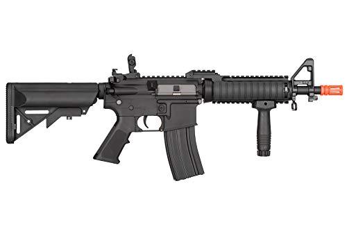 Lancer Tactical  2 Lancer Tactical MK18 Polymer Low FPS MOD 0 AEG Airsoft Rifle Black