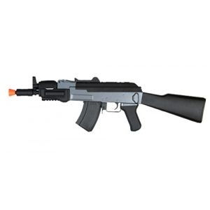 Jing Gong (JG) Airsoft Rifle 1 cyma cm037 ak47 beta spetsnaz cqb aeg - full metal airsoft rifle gun w/ stock(Airsoft Gun)