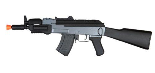 Jing Gong (JG)  1 cyma cm037 ak47 beta spetsnaz cqb aeg - full metal airsoft rifle gun w/ stock(Airsoft Gun)