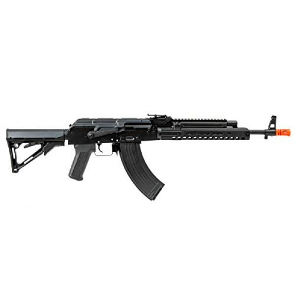 Double Bell Airsoft Rifle 2 Double Bell AK47 Tactical M-LOK Airsoft AEG Rifle (Black)