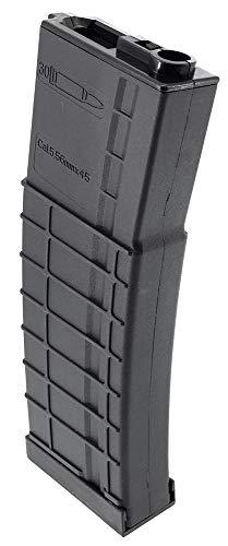 SportPro  2 SportPro CYMA 320 Round Polymer Thermold Waffle High Capacity Flash Magazine for AEG M4 M16 Airsoft - Black