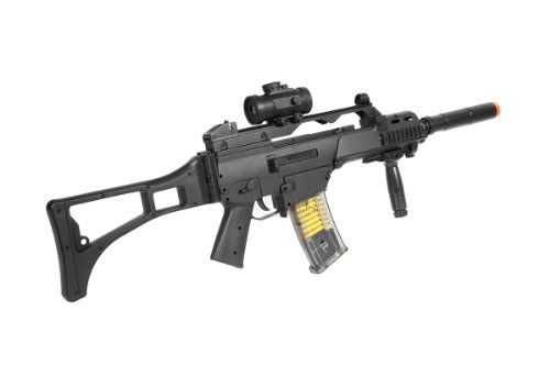 TAC  5 DE R36C TacSpec Electric AEG Rifle w/Flashlight and Red Dot Scope