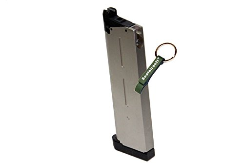 KJW  2 KJ Works 26rds Airsoft Metal 6mm GAS Magazine For KP07 MEU GBB -Mobile Ring Included