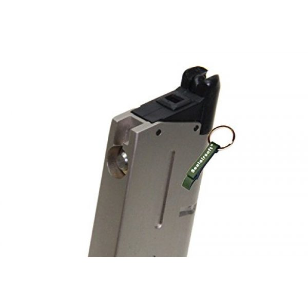 KJW Airsoft Gun Magazine 3 KJ Works 26rds Airsoft Metal 6mm GAS Magazine For KP07 MEU GBB -Mobile Ring Included