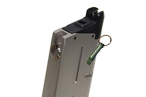 KJW  3 KJ Works 26rds Airsoft Metal 6mm GAS Magazine For KP07 MEU GBB -Mobile Ring Included