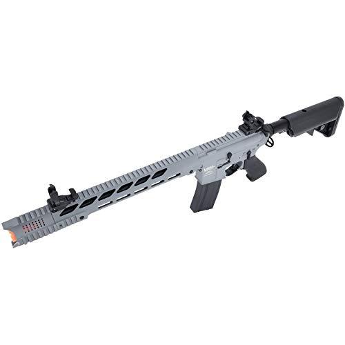 Lancer Tactical  5 Lancer Tactical LT-25 ProLine Series M4 SPR Interceptor Airsoft AEG Rifle HIGH FPS Gray 395 FPS
