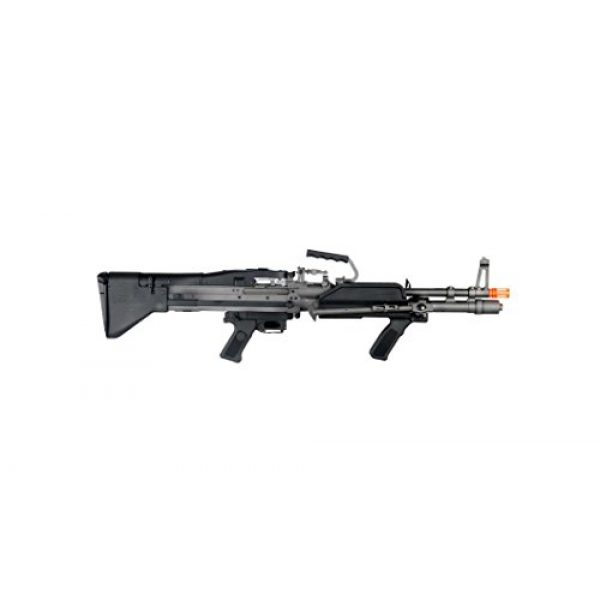 GLORYFIRE Airsoft Rifle 4 GLORYFIRE MK43 AEG Metal Gear Full Metal Body Integrated Bipod