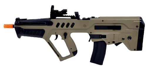 Umarex  3 umarex tavor 21 desert tan aeg airsoft rifle w/ reflex dot sight(Airsoft Gun)