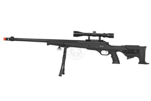 Airgunplace  3 wellfire mb11d full metal bolt action sniper rifle w/ scope and bipod(Airsoft Gun)