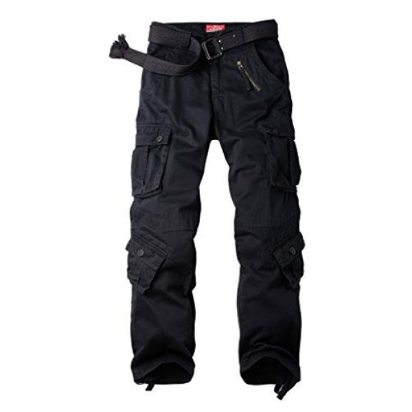 TRGPSG Tactical Pant 1 Women's Casual Combat Cargo Pants, Cotton Outdoor Camouflage Military Multi Pockets Work Pants 4