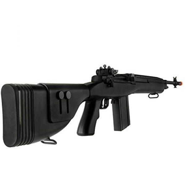 "Lancer Tactical Airsoft Rifle 4 Lancer Tactical LT-732 DMR Stock 45"" M14 SOCOM Airsoft AEG Rifle Black"
