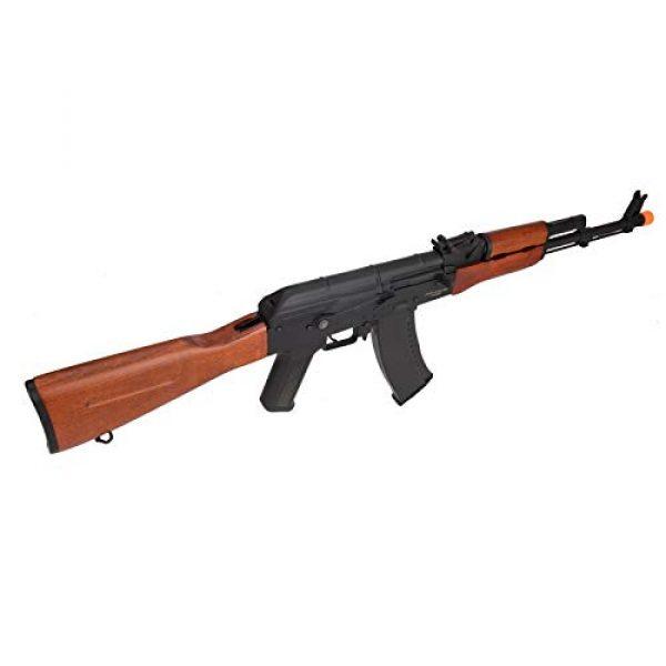 Lancer Tactical Airsoft Rifle 4 Lancer Tactical AK-74N Series AEG Airsoft Rifle Real Wood Furniture