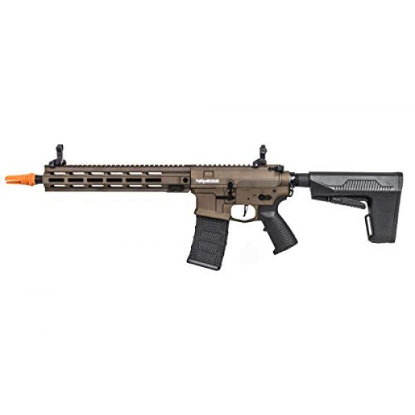Classic Army Airsoft Rifle 2 Classic Army Nemesis Gen2 LS12 M4 Carbine AEG Airsoft Rifle w/BAS Stock (Bronze)