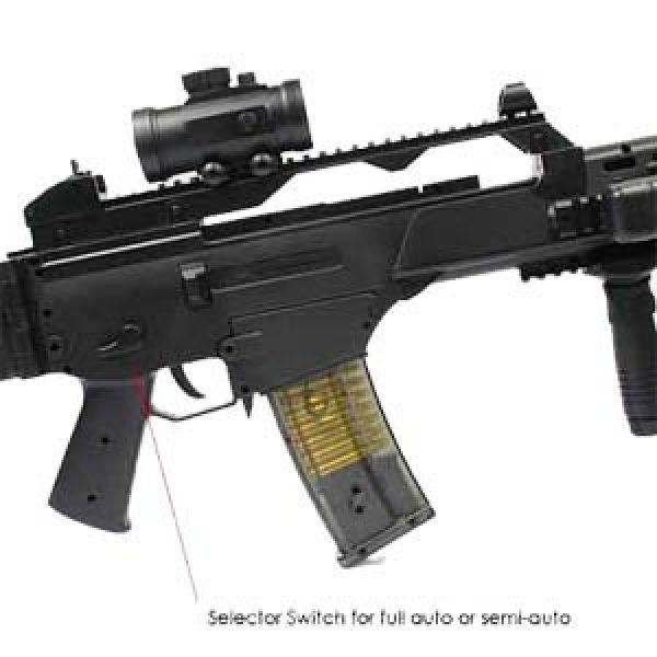 Double Eagle Airsoft Rifle 3 Double Eagle X36 M85 Fully Automatic Airsoft Electric Gun