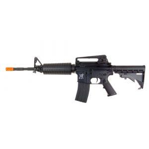 SRC Airsoft Rifle 1 src aeg-m4a1 semi/full auto nimah/charger included-metal gb/blk(Airsoft Gun)