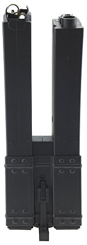SportPro  1 SportPro 560 Round Polymer Double High Capacity Magazine for AEG MP5 Airsoft - Black