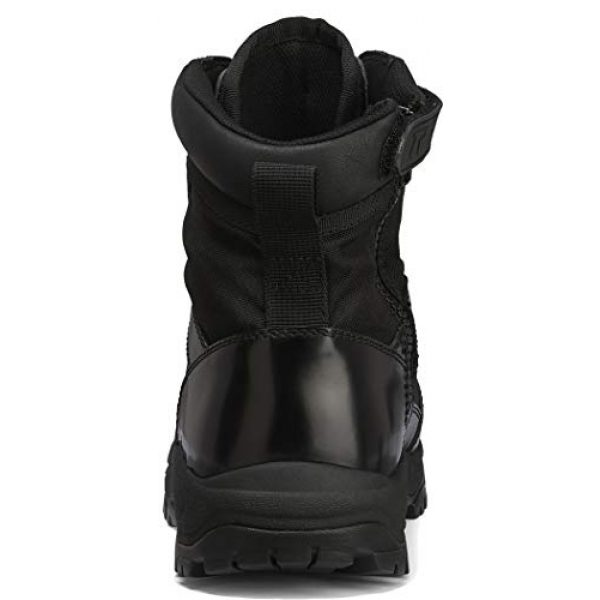 """Belleville Tactical Research TR Combat Boot 5 Belleville Tactical Research TR Men's Class-A TR906Z 6"""" Hot Weather High Shine Side-Zip Boot"""