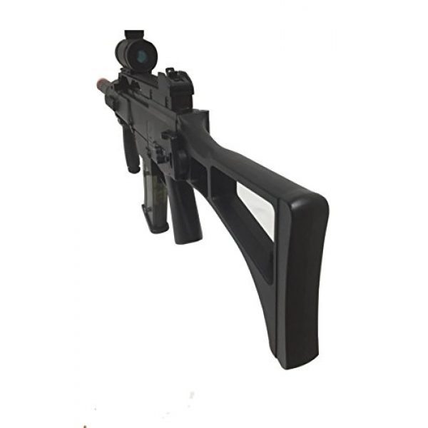 Double Eagle Airsoft Rifle 4 JustAirsoftUSA M85 Electric Rifle Airsoft Gun w/ accessories