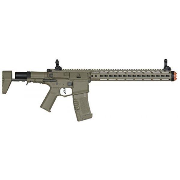 Elite Force Airsoft Rifle 2 Elite Force Amoeba AM-016 AEG Powered Automatic 6mm BB Rifle Airsoft Gun, Dark Earth Brown, One Size (2264505)