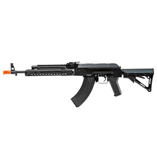 Double Bell Airsoft Rifle 3 Double Bell AK47 Tactical M-LOK Airsoft AEG Rifle (Black)