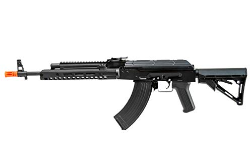 Double Bell  3 Double Bell AK47 Tactical M-LOK Airsoft AEG Rifle (Black)